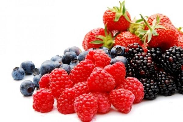 Assorted summer berries