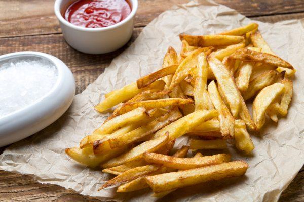 Patates acrilamida