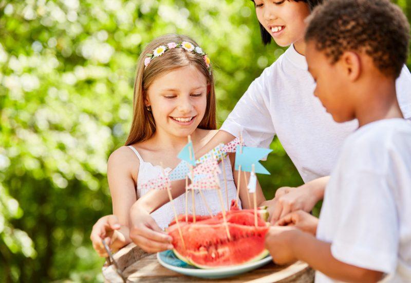 Fiestas infantiles saludables
